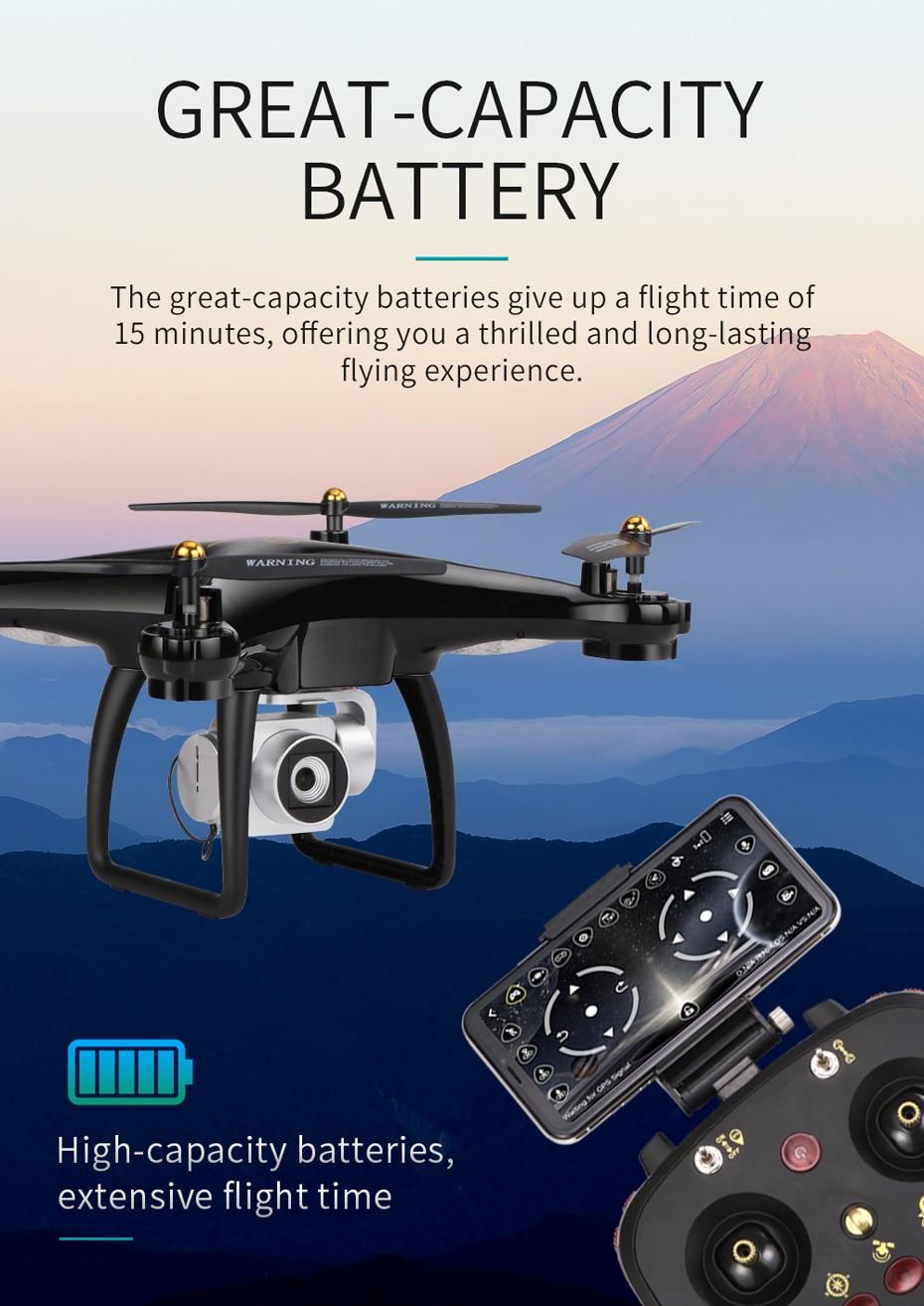 15 Drone 5G Wifi VS H68 Camera 1080P HD