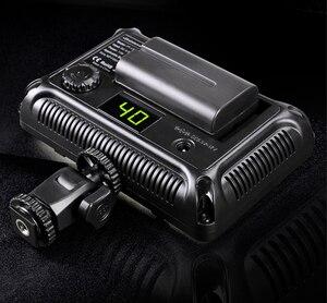 Image 5 - 176 pièces lumière LED pour appareil Photo reflex numérique caméscope lumière continue, batterie et chargeur USB, étui de transport photographie Photo vidéo Studio