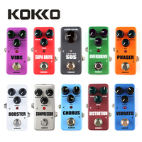 KOKKO FPH2 Vintage Phaser Guitar Effect Pedal With True Bypass Orange