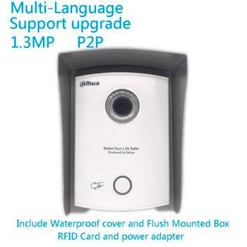 ahua Multi-language RFID VTO6100C IP Villa Doorbell,Video Intercom, Door Phone,Include Waterproof cove and RFID card Video Intercom