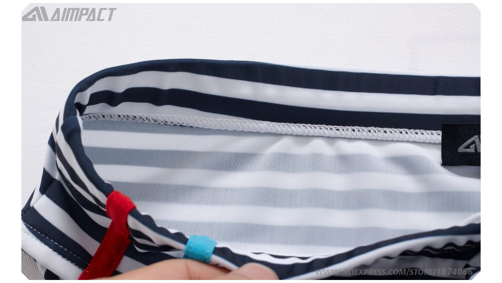 Новая летняя мужская одежда для плавания, спортивные мужские плавки, плавки с низкой посадкой, мужской купальник в полоску, мужской купальн... 28