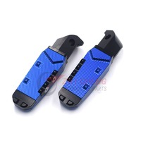 Motorcycle Foot Pegs Rear Passenger Pedal Foot Rests Footrests For Yamaha XJR1300 FZ6 FZ6R XJ6 T MAX 530 500 TMAX XSR700 XSR900