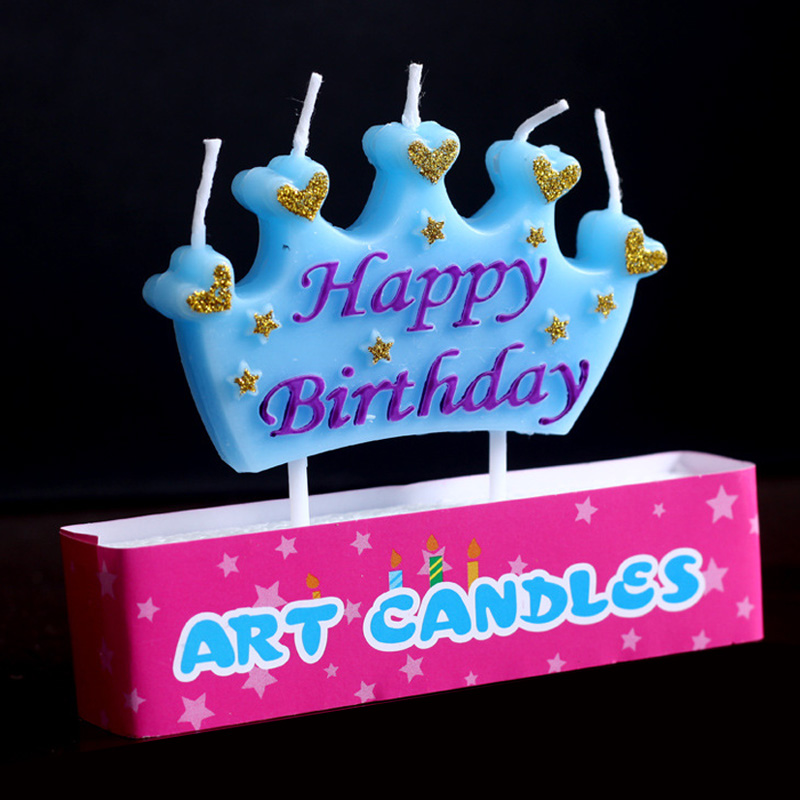 Outstanding Cute Pretty Blue Prince Pink Princess Crown Design For Kids Girls Birthday Cards Printable Nowaargucafe Filternl