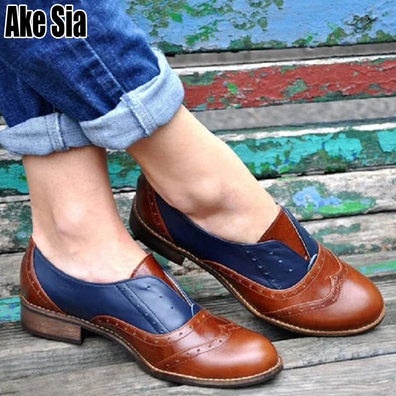 British Style Women Ladies Fashion Low Block Heels Shallow Pumps Female Casual Loafers Zapatos Carving Brogue Shoes Saptos A590British Style Women Ladies Fashion Low Block Heels Shallow Pumps Female Casual Loafers Zapatos Carving Brogue Shoes Saptos A590