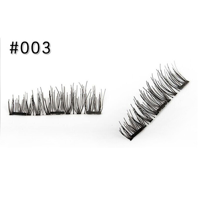 3 Magnet 3D Magnetic Eyelashes Magnet Lashes 3