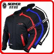 2018 Nova Motocross equipamento de Equitação Da Motocicleta Jaqueta Jaquetas de Moto cavaleiro roupas de segurança de Nylon poliéster tem 3 cores