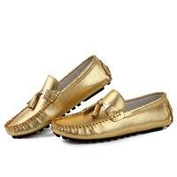 Persoonlijkheid mode vrouw lederen schoenen vrouwen loafers kwastje rijden schoenen casual platte zapatos mujer size35-43