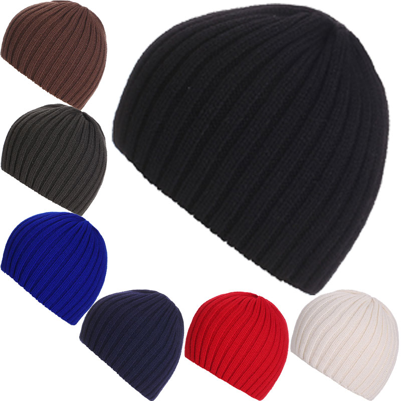 Women Men Unisex New Knitted Beanie Hat Cap Skullies Soft Warm Skiing Outdoor Winter Caps Solid Striped Beanies 88  -MX8 new arrival men knitted hat high quality brand designer winter cap fashion warm men beanie outdoor casual caps