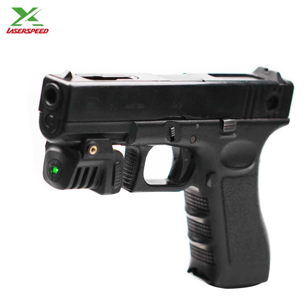 LS-L8 series mini sized rechargeable red dot laser sight for airsoft pistol guns