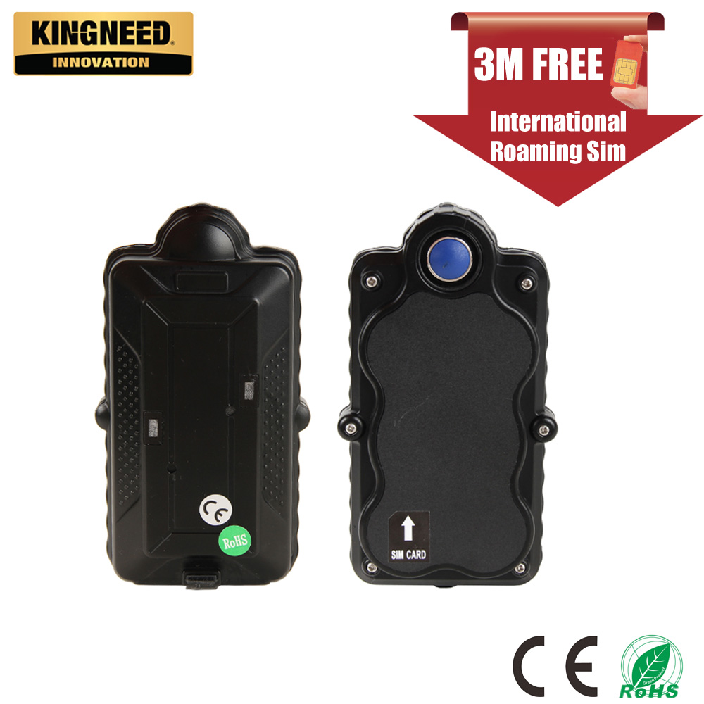 KINGNEED TK05 magnetic car vehicle portable battery powered waterproof SOS  WIFI gps tracker tracking logger without sim card
