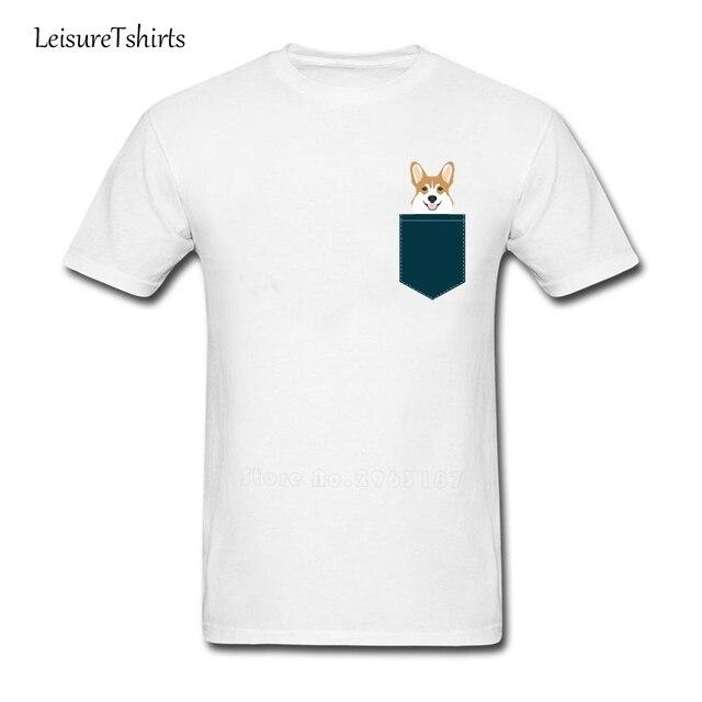 3cef606cae8ae Teagan Corgi Welsh Corgi Gift Phone Case Design For Pet Lovers And Dog  People T Shirt Male Tee Shirt Home Wear Exercise T-Shirt