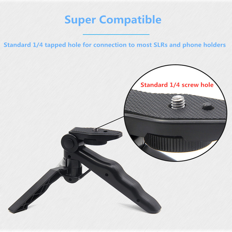 Mamen Phone Tripod Selfie Stick Bracket Mini Tripod Mount Monopod Selfie Stick Stabilizer Camera Stand with Clip For Phone Nikon in Live Tripods from Consumer Electronics