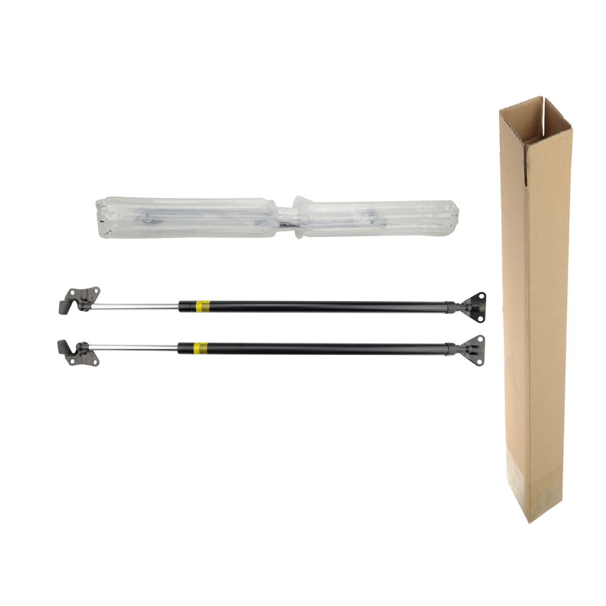 2x tailgate gas struts for toyota hiace standard roof van left right 2005 on one year quality