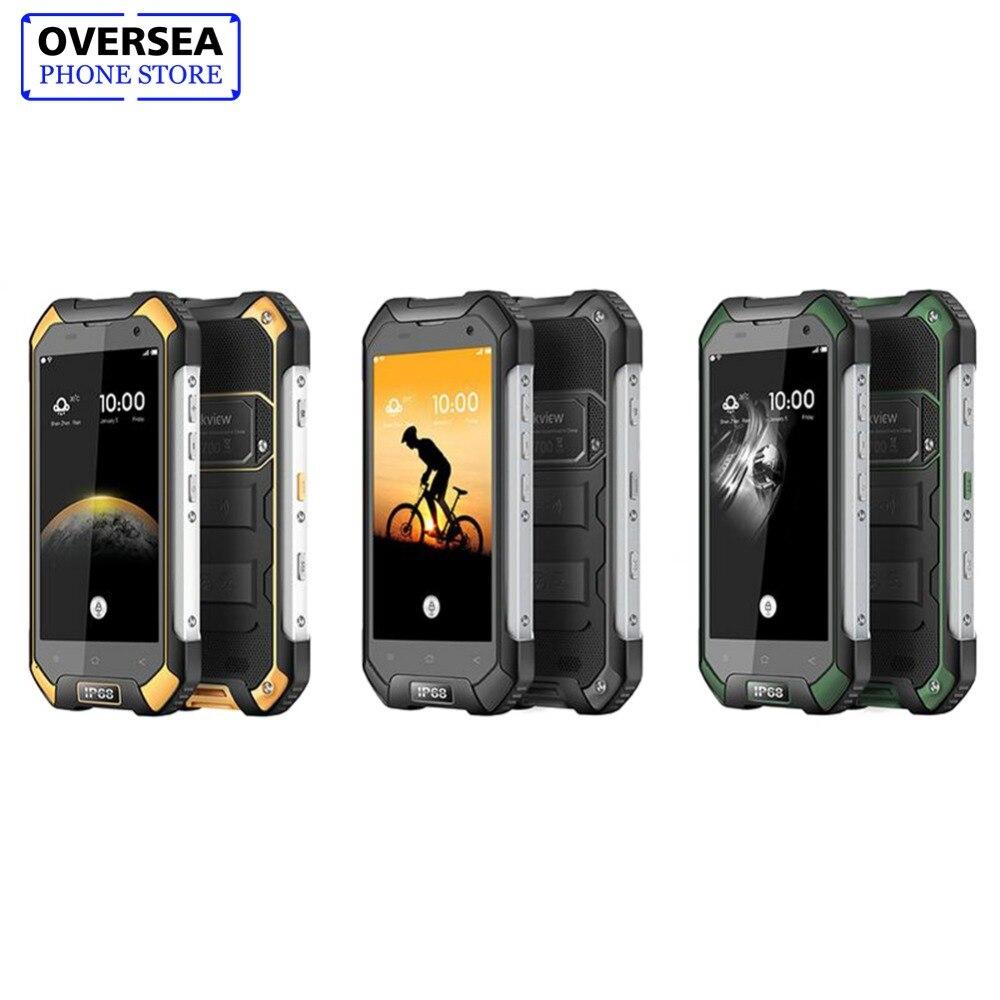 IP68 Blackview Étanche BV6000S Smartphone 2 + 16 gb 8.0MP Android 7.0 Mobile Téléphone 4g 4.7 pouce HD MT6737T quad Core téléphone portable