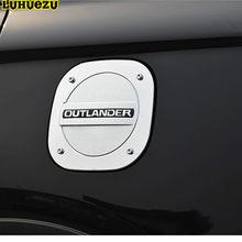 Крышка топливного бака Luhuezu, хромированная, газовая Крышка для Mitsubishi Outlander Accessories 2016 2017