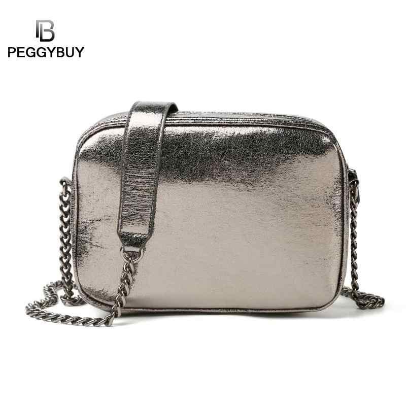 Women/'s new Messenger bag zipper bag shoulder bag chain PU bag mini