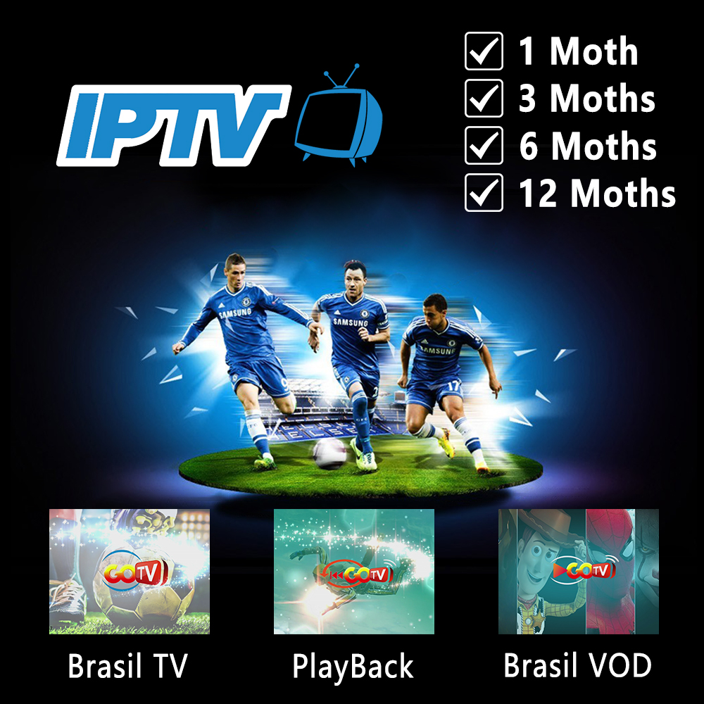Brazil IPTV Portuguese APK Subscription LiveTV& VOD&Playback HD Programmes  PlayVideo Support Android TV Box For South America