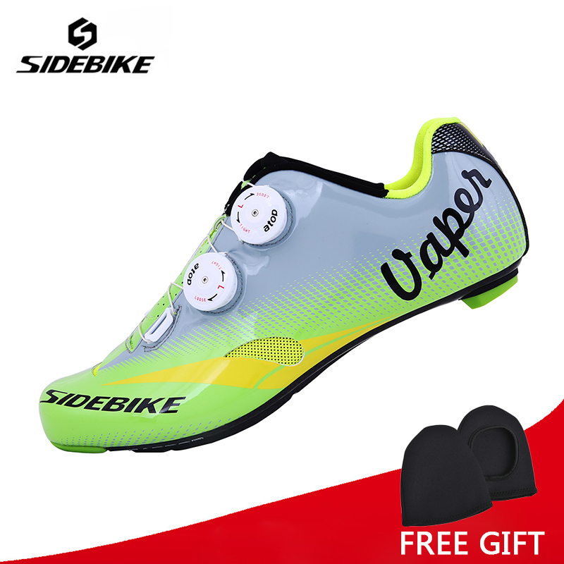 Sidebike Riding Cycling Shoes Road Carbon Breathable Sidebike Bicycle Shoes Cycle Sneakers Sapatilha Ciclismo Zapatillas sidebike mens road cycling shoes breathable road bicycle bike shoes black green 4 color self locking zapatillas ciclismo 2016
