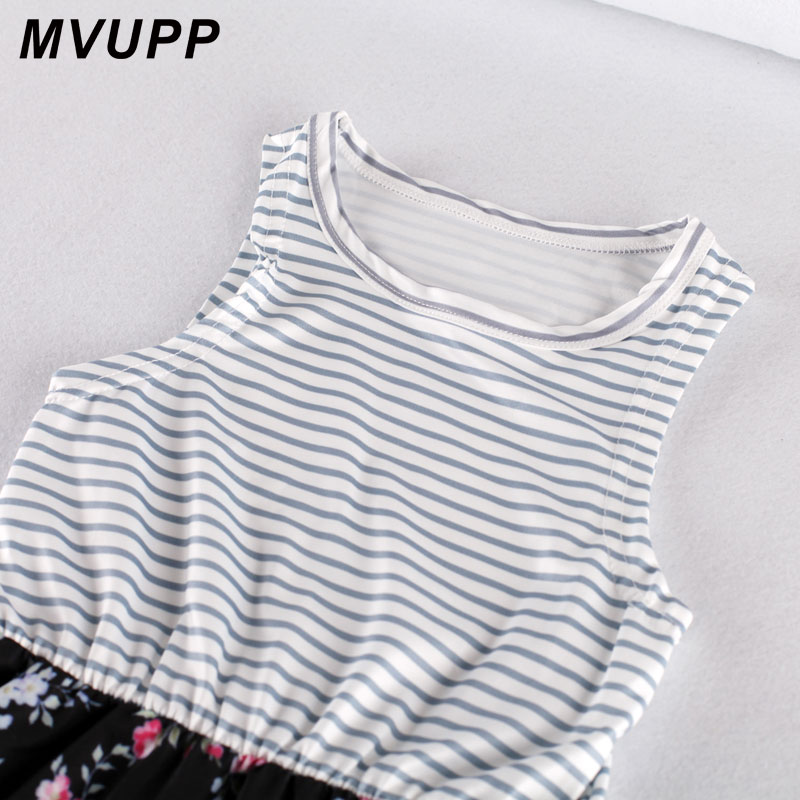HTB130pLKhSYBuNjSsphq6zGvVXai - MVUPP Mommy and me family matching mother daughter dresses clothes striped mom daughter dress kids parent child outfits look