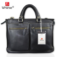 WHORSE W160319 Guarantee Genuine Cow Leather Women Shoulder Bag Large Chain Ladies Casual Women S Handbag
