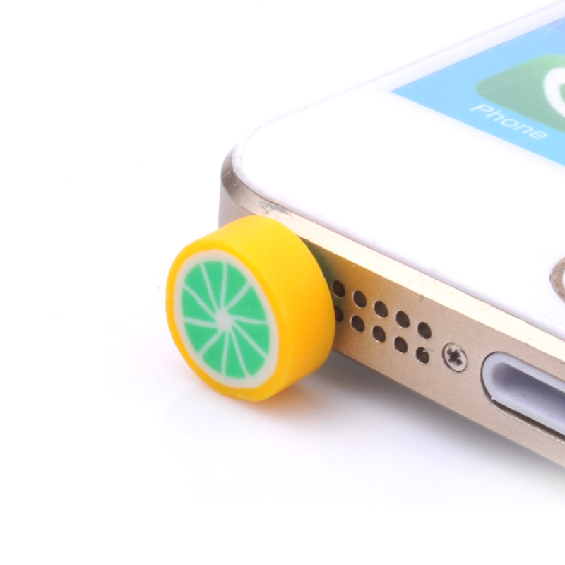 Para huawei iphone lg auricular limitada dachshund nueva fruta linda enchufe del