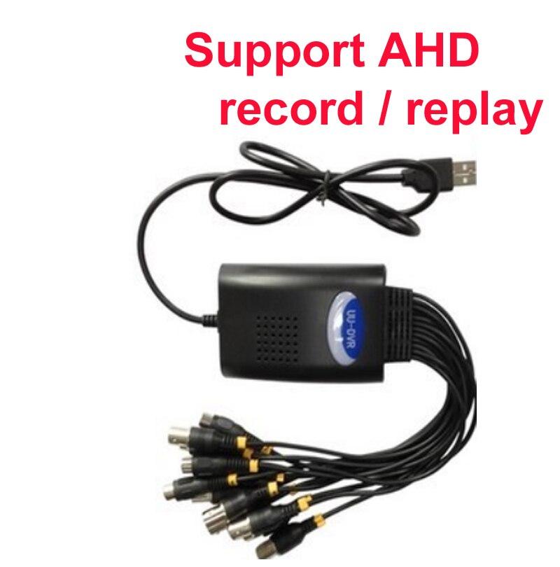 AHD camera 720p DVR card 4 ch Windows DVR box W7 W8 XP W10 supported AHD USB DVR box android OS IOS cctv DVR usb 2.0 microsoft office 365 personal для windows macos и ios box