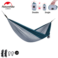 Naturehike Swings Sleeping Hammock Tent Ultralight Outdoor Camping Flyknit Hamaca Garden Charpai Bed Portable Travel Charpoy
