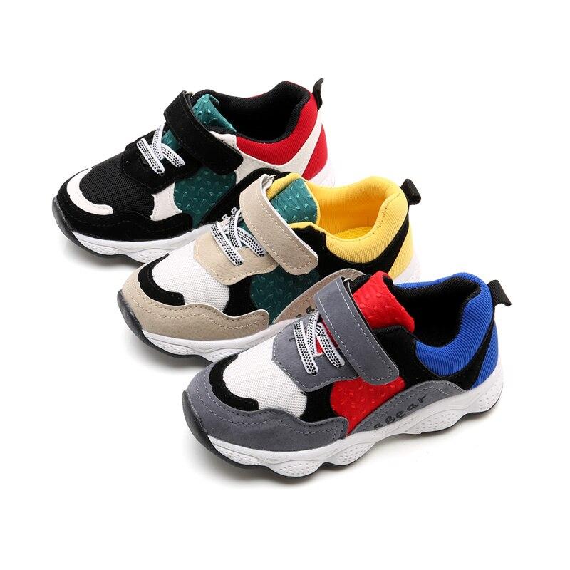 Mudibear Baby Girls Sneakers Shoes 2018 Children Shoe Boys Sport Shoes Kids Mesh Running Sneakers Toddle Trainers School Shoe 37
