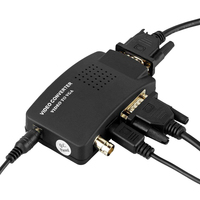 STEYR CCTV BNC Camera Composite S Video To VGA Converter Adapter In To PC VGA LCD