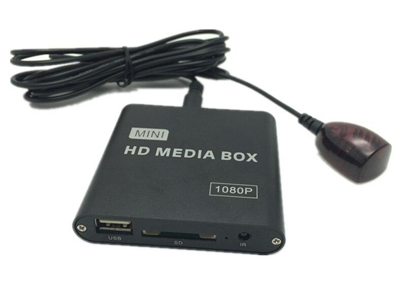 JEDX MP021 Plus Mini Full HD 1080P HD Media Player IR ExtenderHDMI+AV+USB/SD/H.264,MKV,MOV,MP4,RM etc Car Player Pakistan