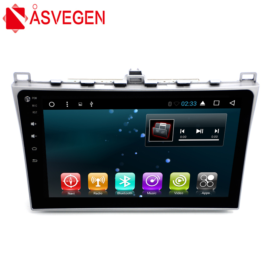 Asvegen Auto GPS Navigation System Für <font><b>Mazda</b></font> <font><b>3</b></font> <font><b>Android</b></font> 7.1 Quad Core 9 ''Autoradio Wifi 4G Stereo Audio Multimedia radio-Player image