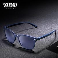20 20 Brand Men Polarized Sunglasses Women Vintage Blue Lens Sun Glasses New Style TR90 Metal