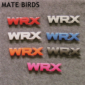 MATE BIRDS Subaru WRX Logo In The Modified Car Logo WRX Car Stickers SUBARU WRX STI Car Complete Color Conversion