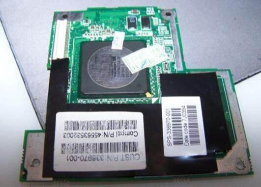 336970-001 336969-001 carte graphique vidéo VGA pour ordinateur portable HP Compaq Presario x1000 NX7000 NX7010 zt3000 PP2080