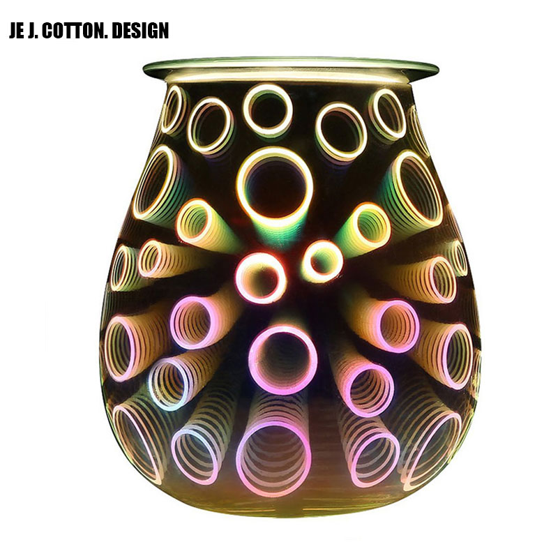 3D Humidifier Aroma Diffuser Ultrasonic Essential Oils Mist Evaporator Home Hotel Aromatherapy Essential Oil Diffuser LED Lamp shenzhen professional aroma diffuser essential oil for hotel lobby