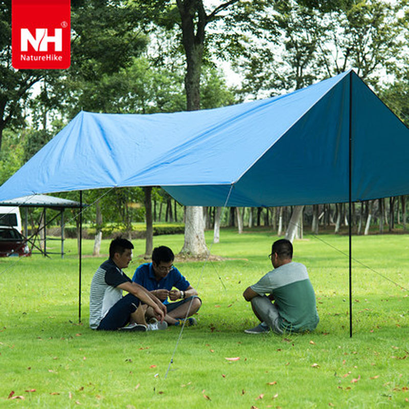 POINT BREAK NH15T001-M Outdoor Awning 420D Oxford Cloth Thickening Fabric Sun Shelter Outdoor Sport Camping Picnic