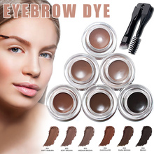 Professional Eyebrow Gel High Brow Tint Eye with Brush Makeup Beauty Tools JIU55