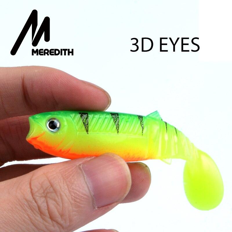 MEREDITH 10 UNIDS 5.5g 8 cm Señuelos de Pesca Señuelos Artificiales Cebos de Pes