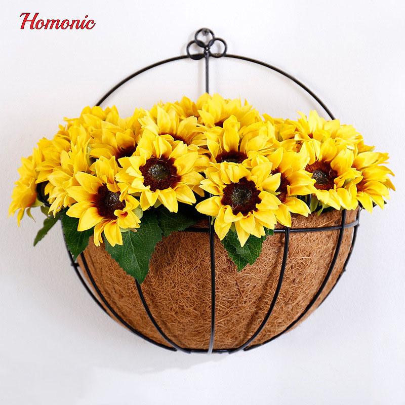 New Arrival flower backdrop metal Flower Pots Artificial floral wall ...
