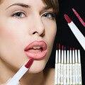 1 Pcs Natural Marca Delineador de Lábios Rotativo Automático Long-lasting Produtos Lipliner Maquiagem Sexy Da Senhora À Prova D' Água Beleza Lábio Vermelho lápis