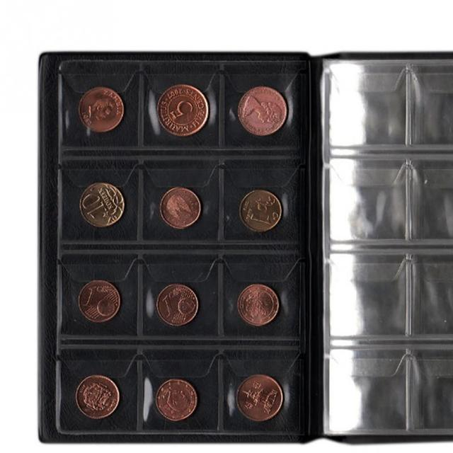 Portable PVC Material  120 Coins Collection Album Money Coin Cases Collection Penny Book Storage Holder