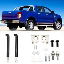 1 пара, 210 мм, пружинная стальная задняя дверь, замедленная и легкая стойка, набор для FORD RANGER T6, год 2012, 2013,,,, автомобильные аксессуары