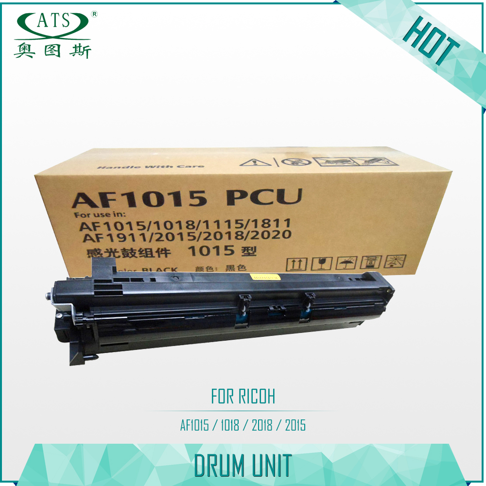 Drum Unit for Ricoh Aficio AF 1015 1018 1115 1811 1911 2015 2018 2020 New Copier Spare Parts 1PCS Photocopy Machine MP2000 second hand transfer unit for minolta di163 high quality photocopy machine copier parts di 163
