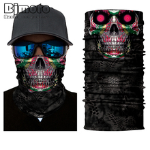Halloween Biker Winter Windproof Face Mask Head Mask Sun Ski Balaclava Bandana Fishing Headwear Neck Tube Scarf Head Wrap 2016 new fashion women mens multifunctional headwear skull bandana helmet neck face head mask halloween turban