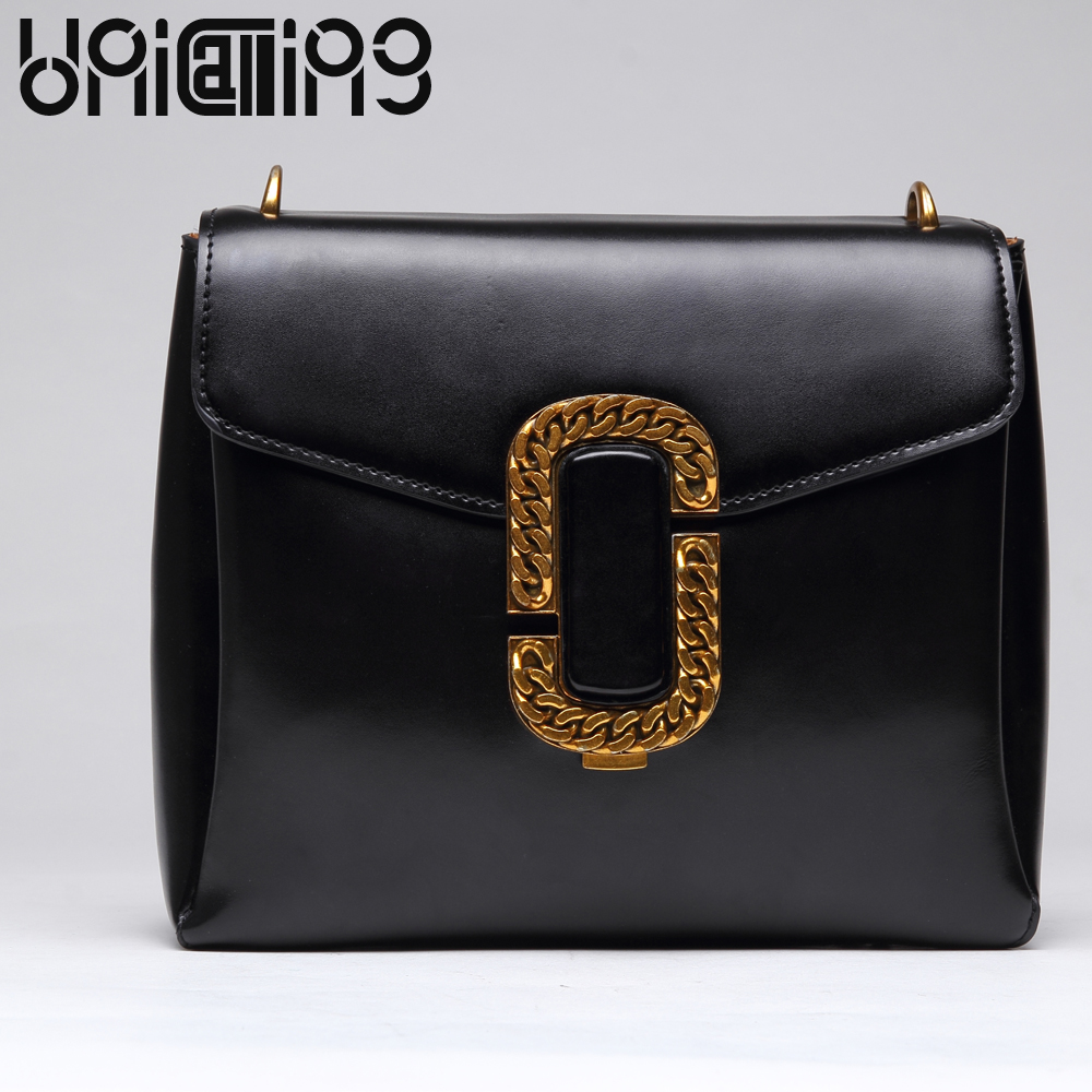 UniCalling Fashion brand lock catch crossbody bags for women All-match mini shoulder bags Retro Split Leather women bag UniCalling Fashion brand lock catch crossbody bags for women All-match mini shoulder bags Retro Split Leather women bag
