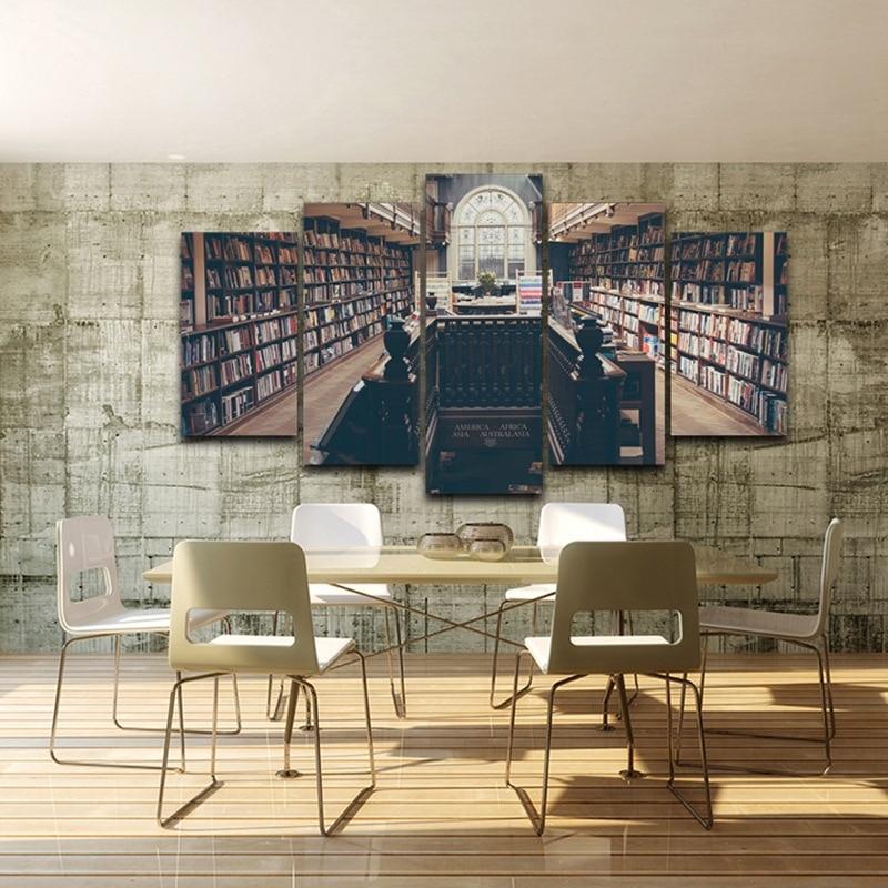 Wand Leinwand Kunst Malerei Plakatrahmen Für Wohnkultur 5 Panel ...