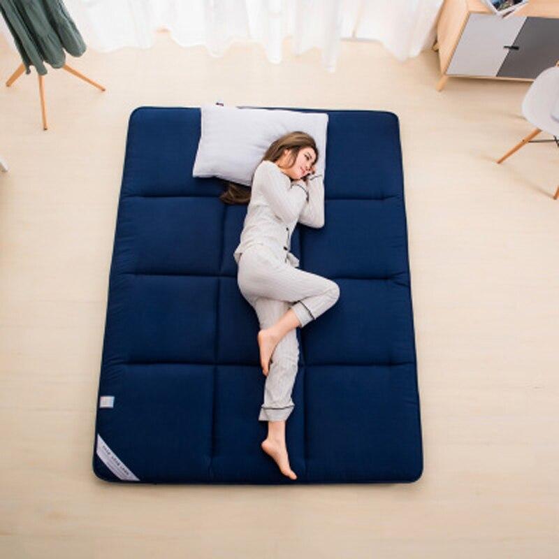 Dormir Tatami colchón doblado piso alfombra perezoso cama esteras para dormitorio y oficina cama Accesorios