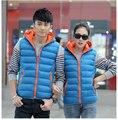 Китай дешевые оптовые новые осень зима 2017 мужчины согреться мода bump цвет случайные любители жилет