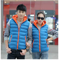 China cheap wholesale new autumn winter 2017 men keep warm fashion bump color casual lovers vest
