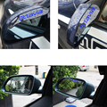PVC Car Rearview Mirror Rain Shade Rainproof Blades Car Mirror Eyebrow Rain Cover For For SKODA Octavia Car Accessorie